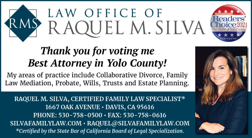 Readers Choice Award Best Attorney in Yolo County